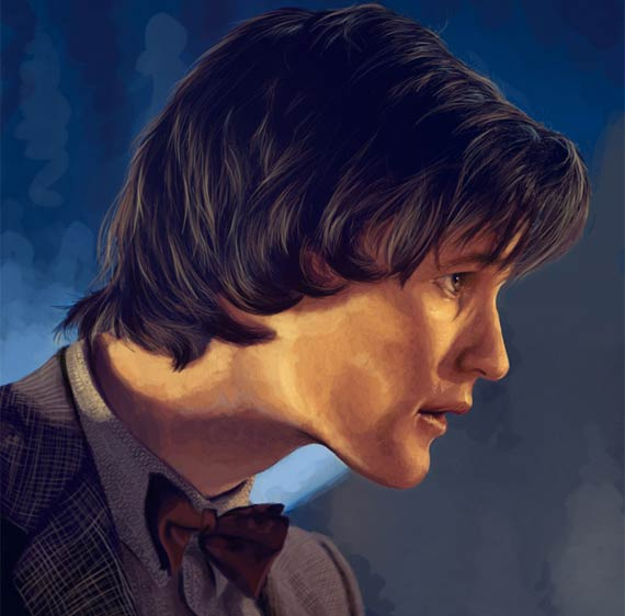 art-11th-doctor-matt-smith